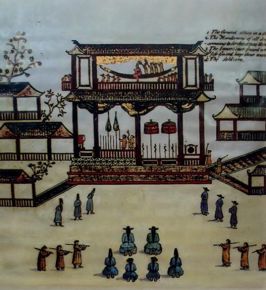 Phủ_Chúa_Trịnh,_tranh_vẽ_thế_kỷ_XVII